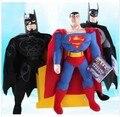 3 шт./компл. Американский фильм аниме супер герой супермен плюшевые Игрушки отличный подарок для детей игрушки для мальчиков П. П. хлопок 25 см