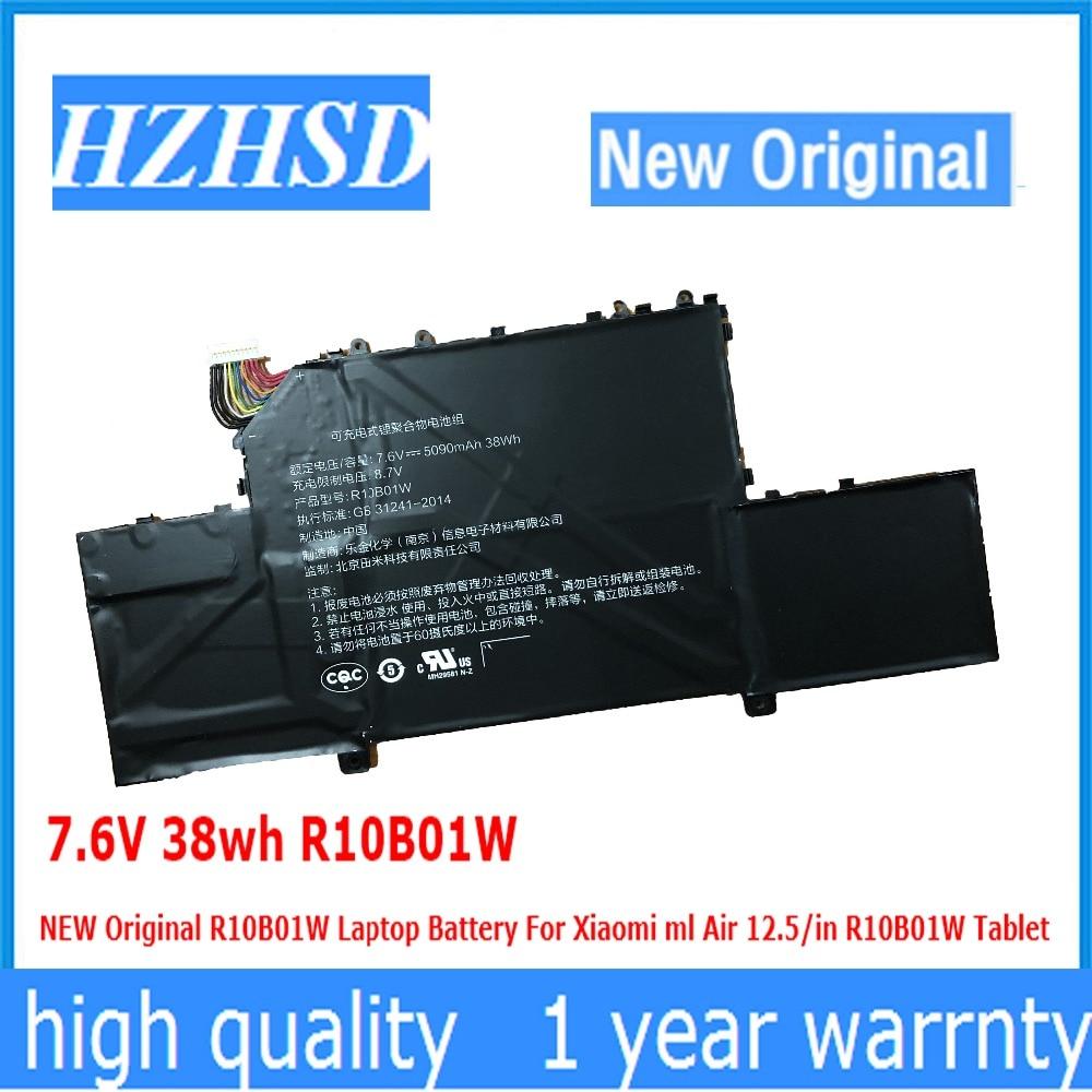 7.6V 38wh R10B01W NEW Original R10B01W Laptop Battery For Xiaomi ml Air 12.5/in