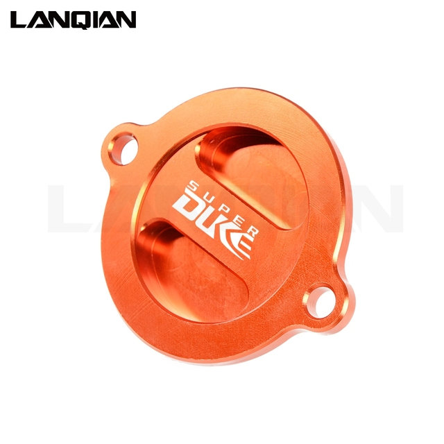 Motorcycle Engine Oil Filter Cover Cap For KTM 1090 1190 1290 990 SUPER ADVENTURE GT Superduke RC8 R RC DUKE 125 200 250 390 690 2