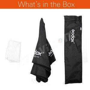 Image 2 - Godox ポータブル 120 センチメートル/47.2in オクタゴンソフトボックス傘ボックスブロリーリフレクターためスタジオストロボスピードライトフラッシュ
