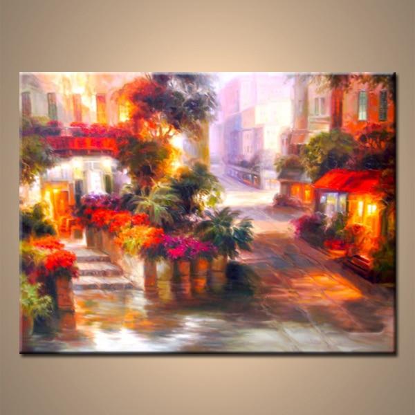 Oil Painting Technique On Canvas