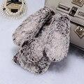Conejo para iphone ajuste cubierta de felpa de invierno de la muchacha linda caja del teléfono para iphone 6 6 s plus de 7 7 más caliente regalo