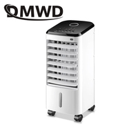 DMWD Air Conditioning Fan Remote Manual control cooling Fan humidifier Portable electric Conditioner fans water cooled chiller
