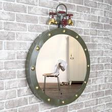 Vintage Metal Frame Mirror