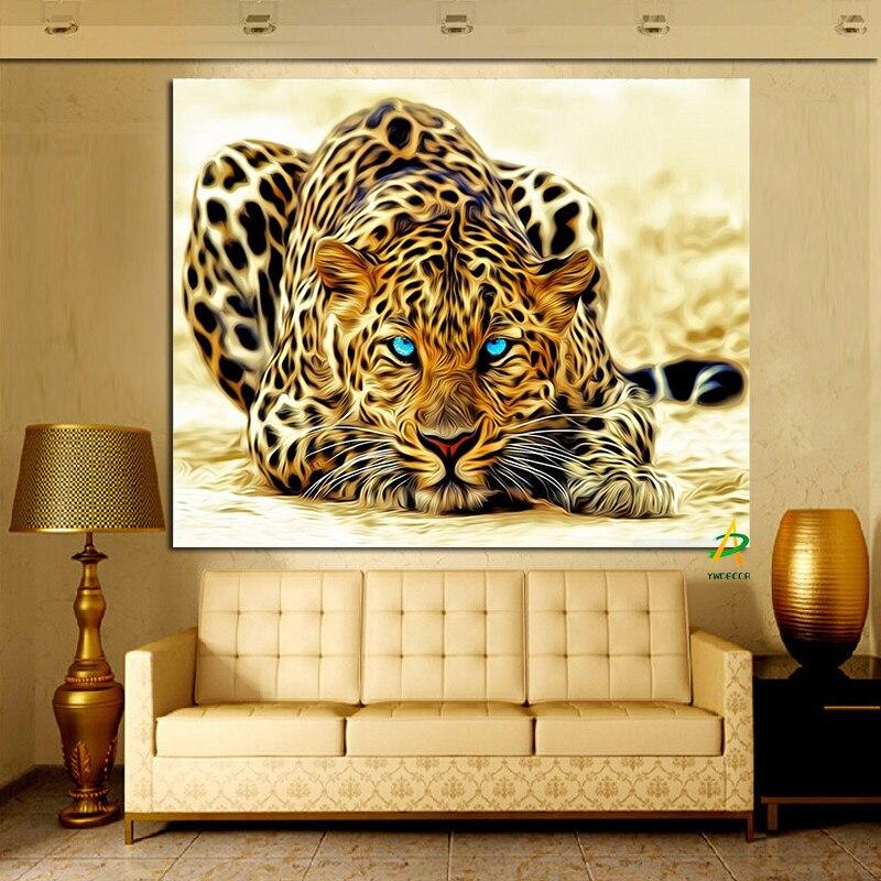 Digital pinturas abstractas compra lotes baratos de for Decoracion hogar leopardo
