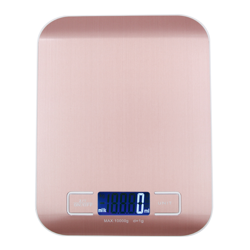 10 kg 1g LCD-Display Elektronische Küchenwaage Digitalwaage ...