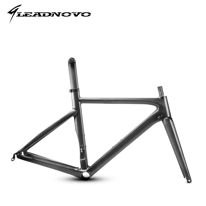LEADNOVO Racing Carbon Bike Frame Super Light Aero Design 3k Carbon Road Frame Race Bike Frameset Customized Painted