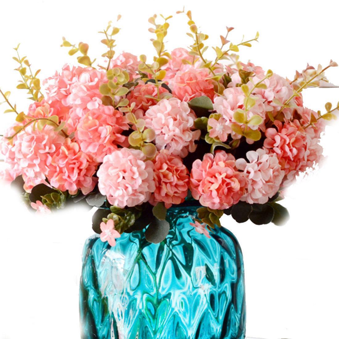 Home Floral Decor: Bouquet Flower Artificial Chrysanthemum Wedding Bridal