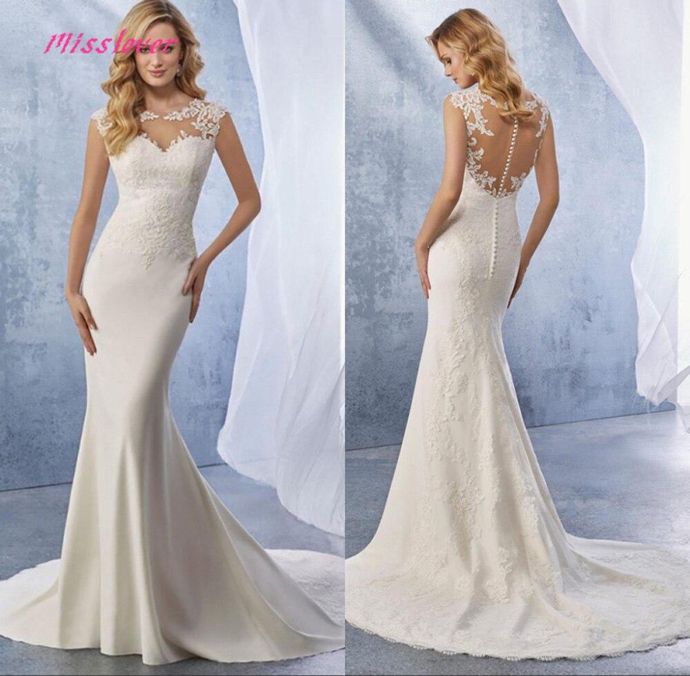Vestido de noiva lace Mermaid Wedding Dresses 2019 new Bridal Gown Bride Dress Court Train Robe