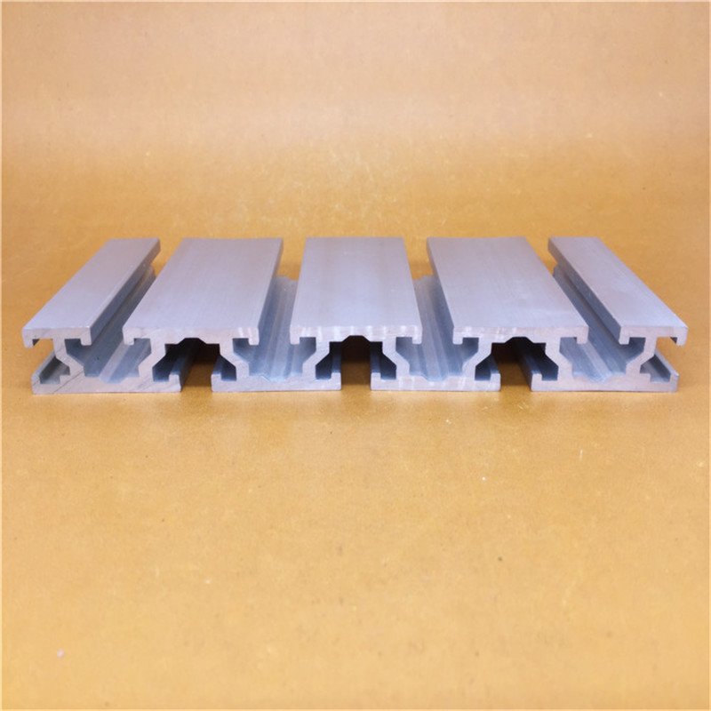 15180 Aluminum Extrusion Profile Wall Thickness 2.2mm Groove Width 8mm Length 400mm Industrial Aluminum Profile Workbench 1pcs