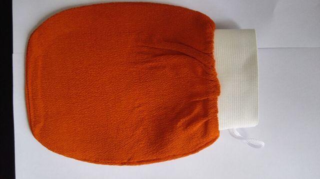 Gant kessa orange coréen   Gant de hammam turc, gant de bain exfoliant, de serviette pour la peau