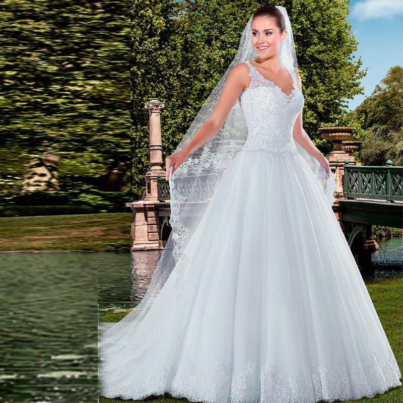 Vestidos para boda en blanco