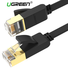 Ugreen Ethernet Cable RJ45 Cat7 Lan Cable UTP RJ 45 Network Cable for Xiaomi TV PS4 Cat6 Compatible Patch Cord Cable Ethernet