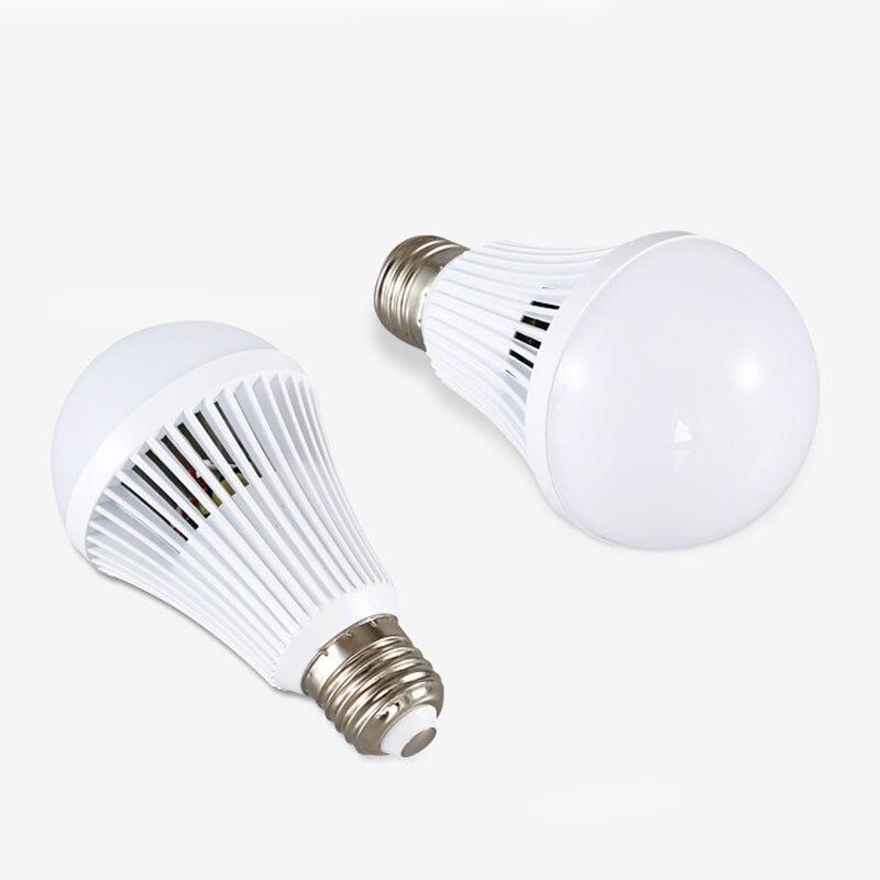 LED Beam Intelligent Emergency Lamp Bulb 12W Indoor Light Home 1200lm 6500K
