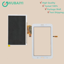 For Samsung Galaxy Tab 3 Lite SM T113 T116 Touch Screen Panel Digitizer Glass Lens +LCD Display Sensor Replacement