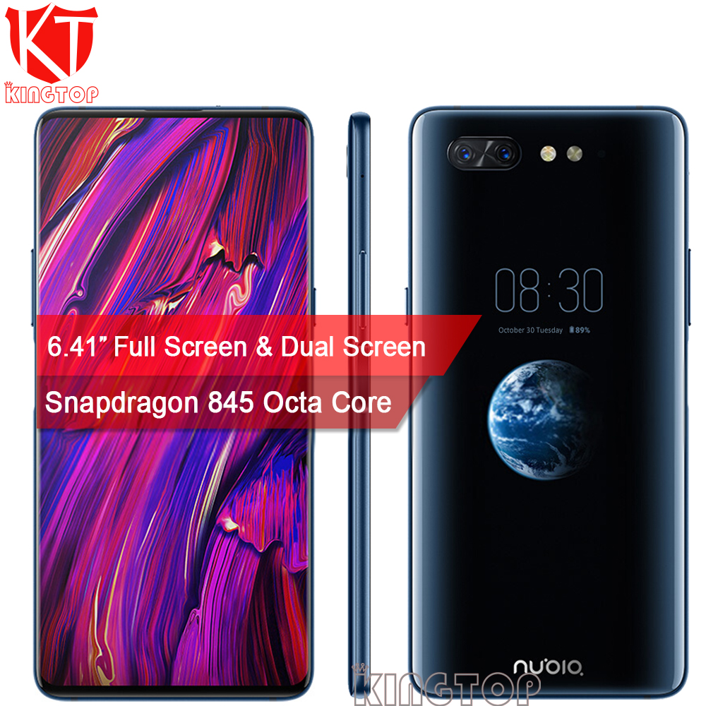Nuovo Originale ZTE Nubia X Cellulare A Doppio Schermo 6.26