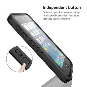 Image 4 - Voor Apple Ipod Touch 7 IP68 Waterdichte Case 360 Graden Bescherming Dropproof Shockproof Duiken Shell Voor Ipod 5 6 Case onderwater