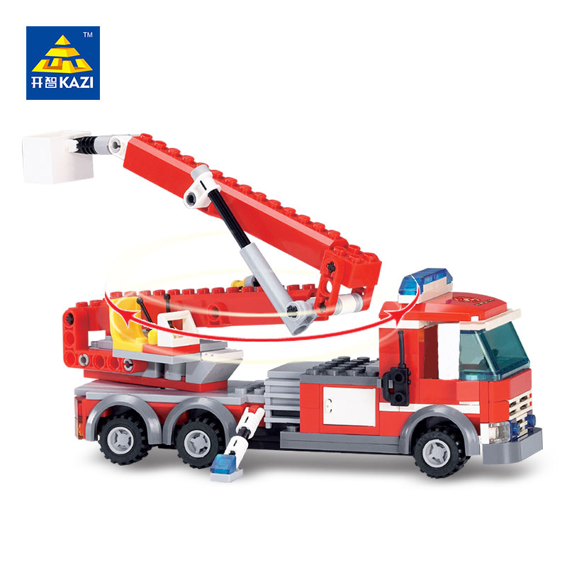 City Series Building Blocks Fire Fighting Heavy Cargo Truck Bricks Sets Educational Toys Building Kit For Kids Compatible Legoe mylb new city fire station 774pcs set building blocks diy educational bricks kids toys compatible with legoe best kids xmas gift