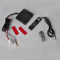 New Car Turbo Timer Blue LED Digital LCD Display Universal Auto Turbo Timer Control Relay Controller