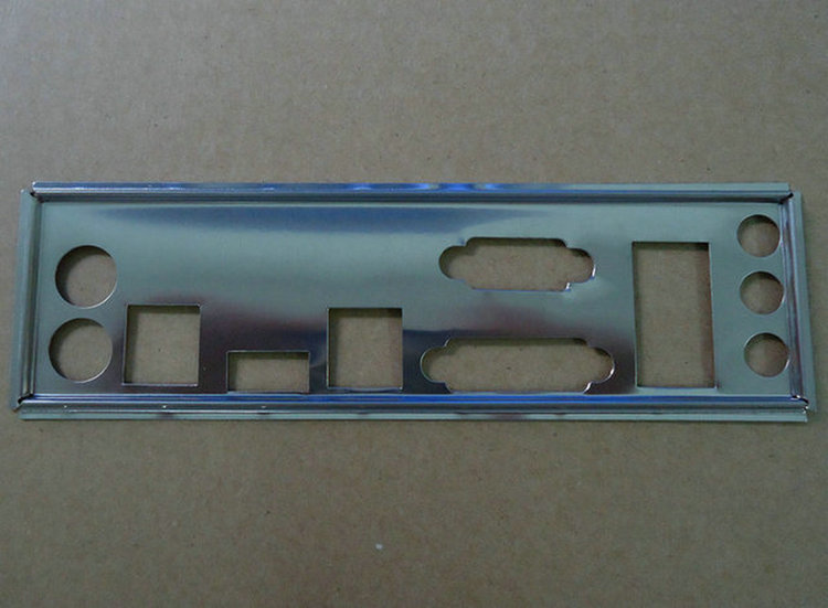 I//O Shield backplate For MSI B85M-E45 /& H81M ECO Motherboard Backplate IO