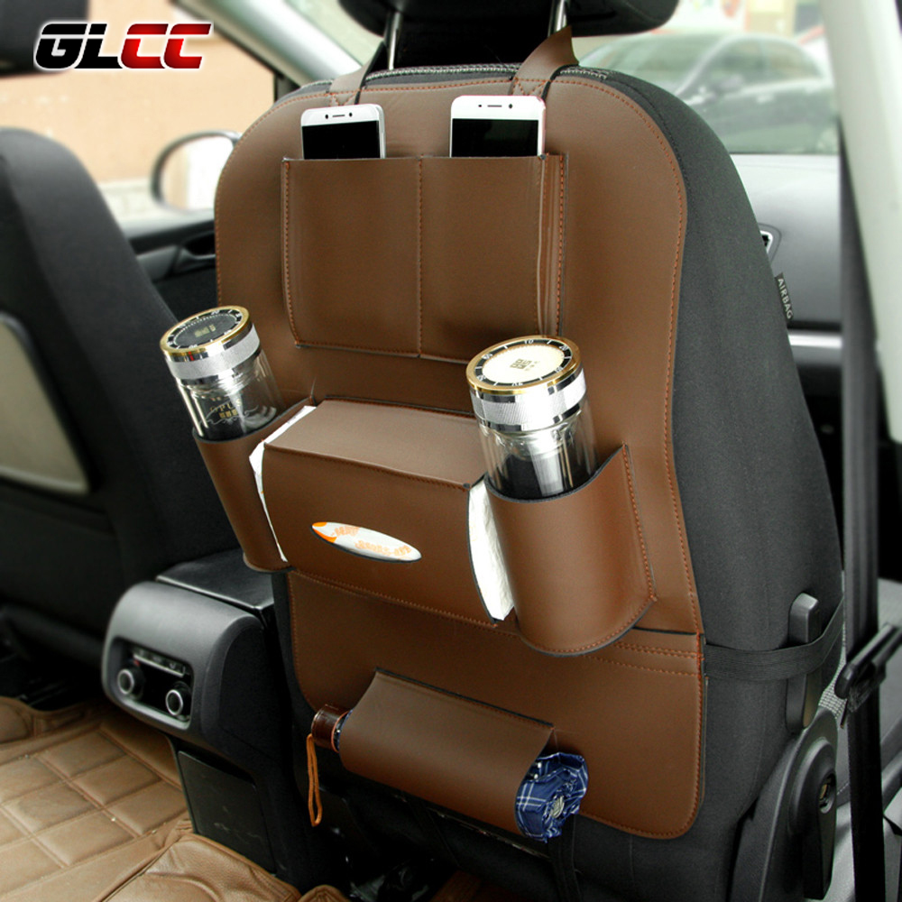 Universal Car Seat Storage Bag Auto Back Seat Pocket