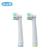 EB25-2 Substituição Cabeças escova de dentes Oral B Limpeza Profunda escova de Dentes Elétrica Escova Heads para D12, D20 3709 D34