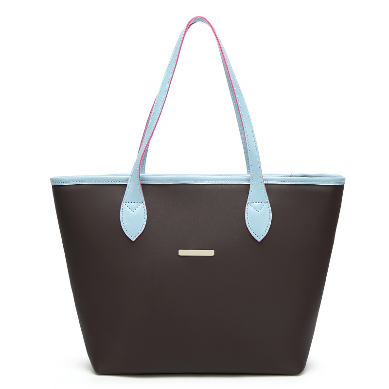 2018 New Foreign Trade Bag, European And American Womens Single Shoulder Bag, Mummy Bucket, A Fashion Hand Bag.Tote Bucket bag