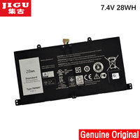 JIGU New Genuine 7.4V 28Wh For Dell Venue 11 Pro Keyboard Tablet Battery 7WMM7 CFC6C CP305193L1 D1R74