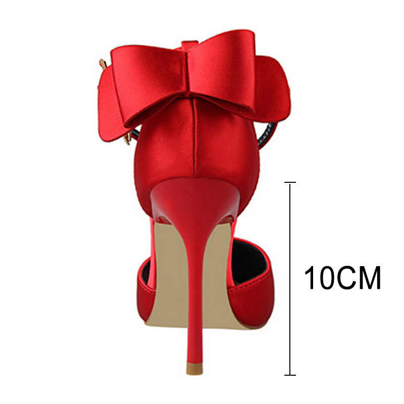 Bigtree scarpe da Donna Pompe 2019 Nuovi Tacchi Alti Scarpe Da Sposa Rosso Tacchi Gattino Delle Donne di Modo Scarpe A Spillo Scarpe Più Il Formato 35 -43
