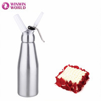 250ML Cream Charger Aluminum Material Nitrous Oxide N2o Cream Chargers Dessert Cream Whipped