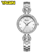 2018 brand fashion watch women luxury alloy bracelet waterproof quartz watch women elegant watch Relogio Feminino