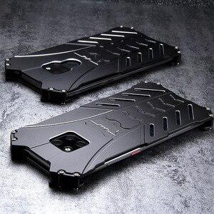 Image 3 - For HUAWEI Mate 30 Pro Case Batman Armor Aluminum Metal For P40 P30 P20 20 Pro 20X 5G lite nova 6 7 se Case Shockproof Coque