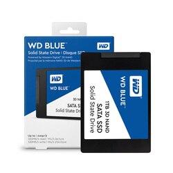 Жесткий диск Western Digital WD синий 250 ГБ 500 1 ТБ ПК SSD 3D NAND SATA3 6 ГБ/сек. 2,5 дюймов твердотельный накопитель на жестком диске для портативных ПК