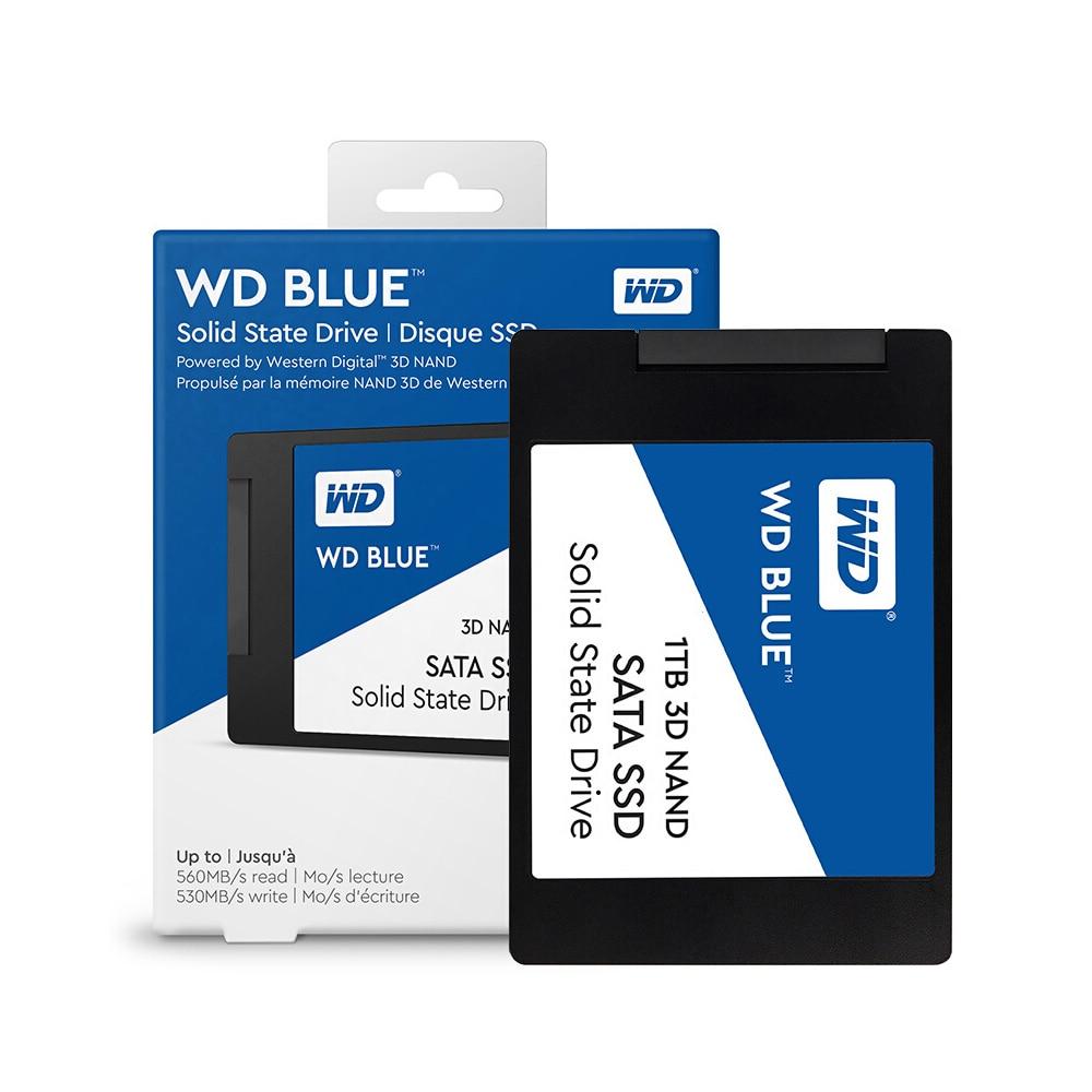 Western Digital WD Blue 250GB 500GB 1 to PC SSD 3D NAND SATA3 6 GB/s 2.5 pouces disque dur à semi-conducteurs pour PC portable