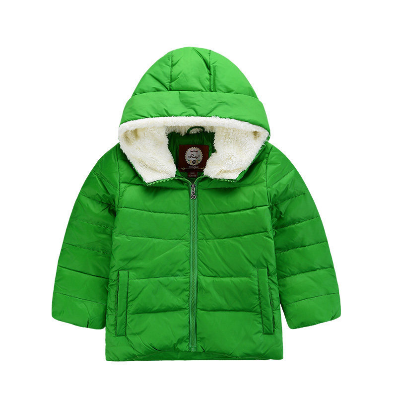 Thick Velvet Kids Ghirls Boys Winter Coat Warm Children's Jackets Fleeced Hooded Cotton 1-6years Clothing Padded Jacket Clothes acrocanthosaurus dinosaur toy model classic toys for boys children gift 302329