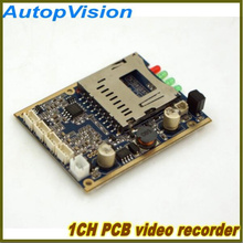1ch Mini Dvr Real Time Hd Dvr Pcb Board Support Power-up Record Motion Detect Record Etc Dvr Camera Car Dvr 20PCB free shipping