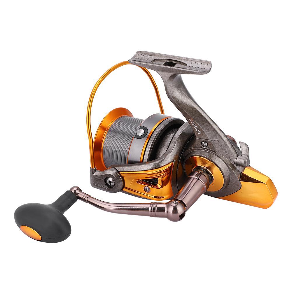 13BB Left or Right Hand Interchangeable Rocker Arm Fishing Reels