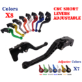Adjustable CNC Short Brake Clutch Levers For Yamaha YZF R6 2005-2016 YZF R1 2004-2008 R6S 2006 2007