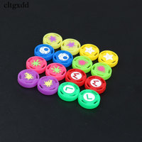 Cltgxdd 100PCS Joy Con Grip Caps For Nintend Switch NS Joycon Controller Silicone Analog Thumb Stick Joystick Cover