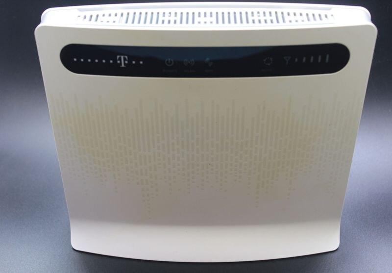 Déverrouillé Utilisé Huawei B593 B593s-12 B593u-12 avec Antenne et avec 4g LTE Routeur 4g Routeur 4g LTE wiFi Routeur PKB310