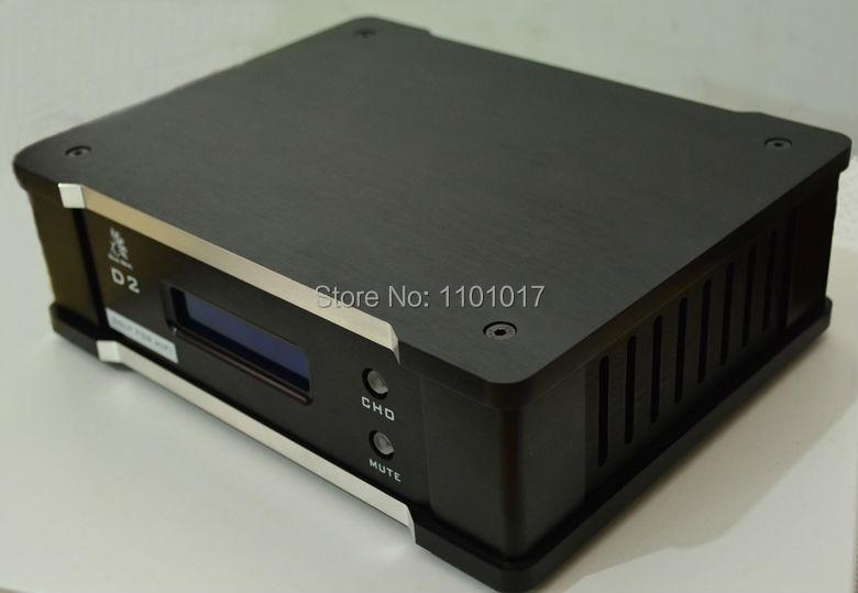 Bluebird D2 AK4495S DAC HIFI EXQUIS Coaxial Optical Or USB Decoder  With LCD Screen LCD
