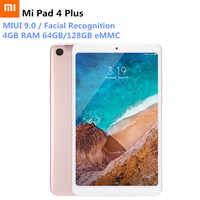 Xiaomi Mi Pad 4 Plus 4G Phablet 10.1'' MIUI 9.0 Snapdragon 660 64GB/128GB Facial Recognition 13MP Tablet PC LTE Version