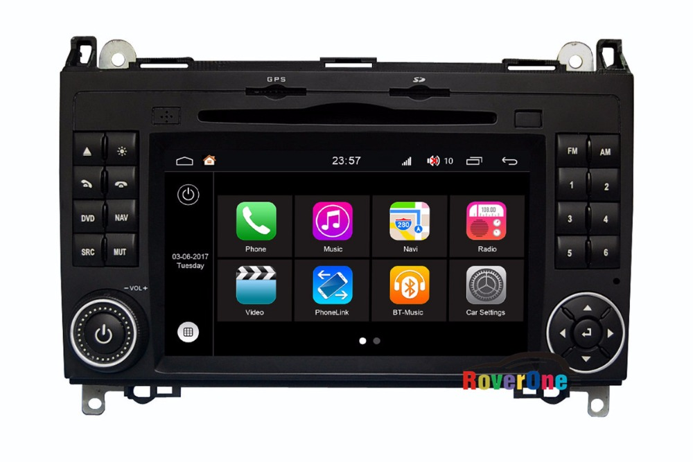 RoverOne For <font><b>Mercedes</b></font> B170 <font><b>B180</b></font> B200 Viano Vito Autoradio Car <font><b>GPS</b></font> Glonass Media Center Central Multimedia Audio Video Player image