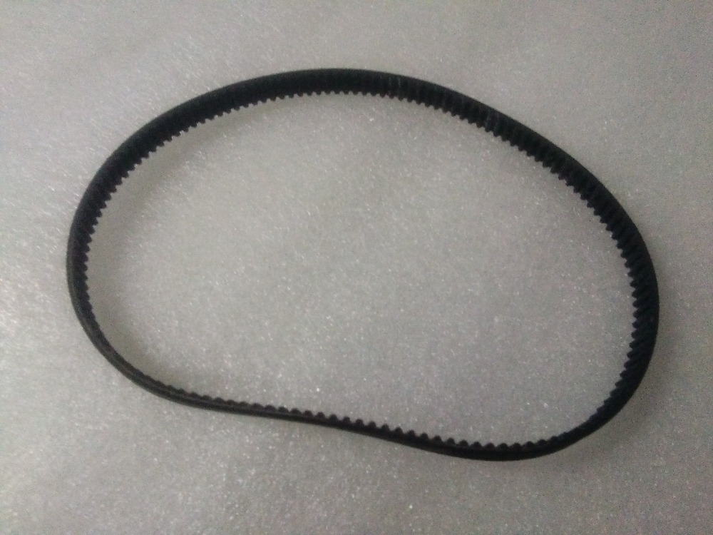 Free shipping/5 Pcs Rubber timing belt/Drive Belt HDT-5M-575(15mm width) for Food processing machinery etc. lupulley s8m timing belt black closed loop rubber belt s8m2880 3200 3272 3280 3400 3440 3600 toothed belt drive for printing