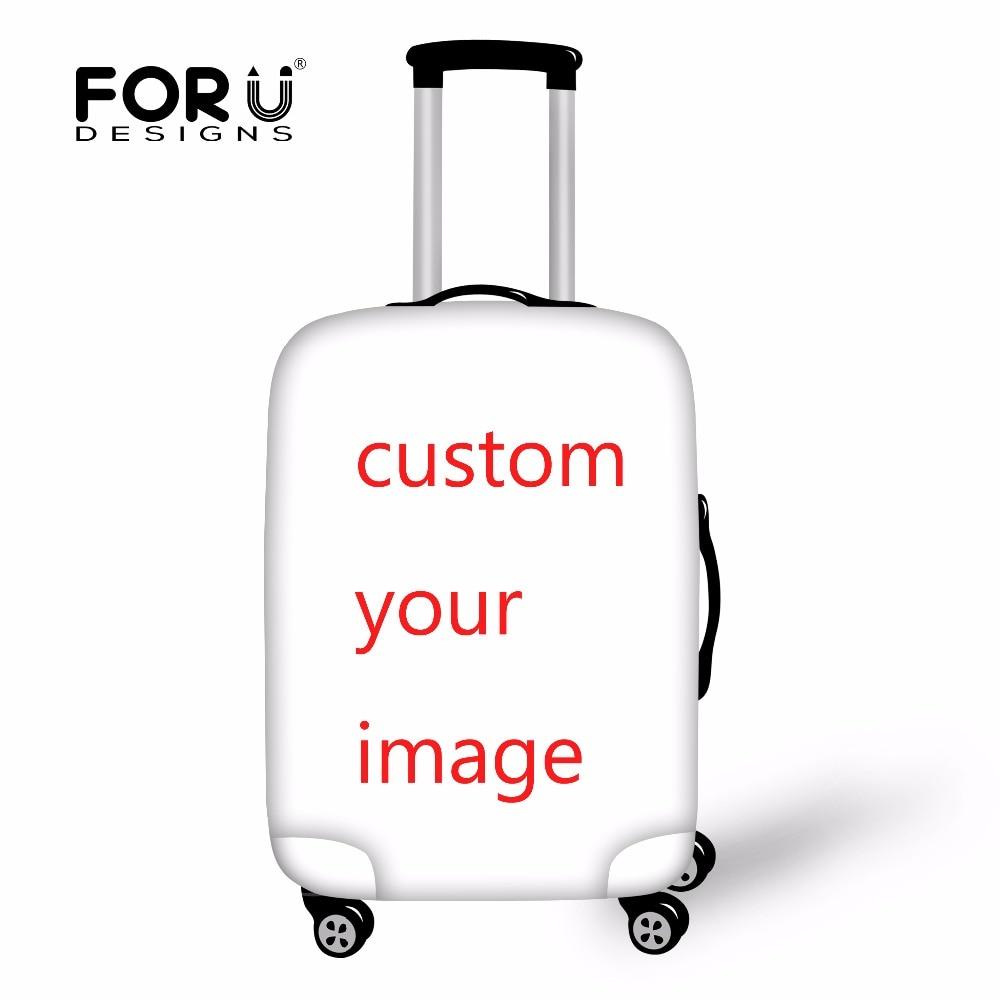 FORUDESIGNS Tilpas elastisk bagagebeskyttelsesdæksel til 18-28 Travel Støvsikker taske Omslag Tilbehør Bagageomslag