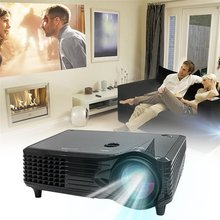 Lightweight Compact and Portable High definition LCD LED Projector 800*480 2000 Lumen HD Home Theater HDMI VGA AV USB