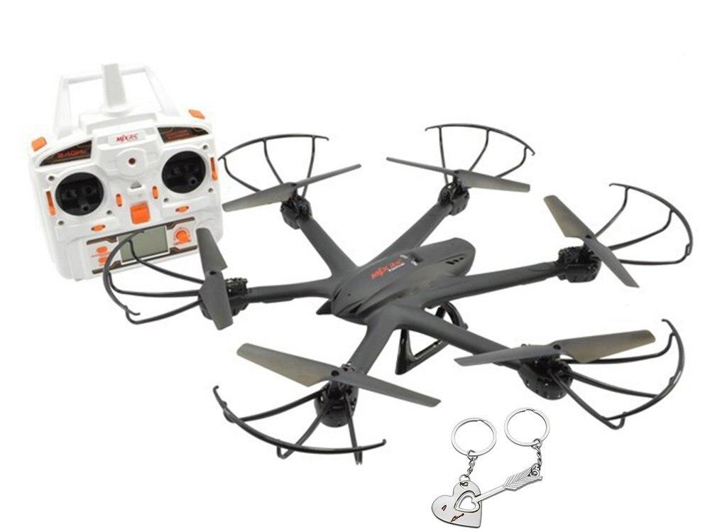 X600 2.4G 4ch RC Quadcopter Drone Hexacopter 6 assi Gyro UAV 3D Roll Ritorno automatico senza testa Un tasto Ritorno elicottero nero   | Promozione -50%