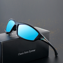 Ywjanp Brand Designer Sunglasses Mens Polarized Driving Sport Sun Glasses For Men Women Square Color Mirror Luxury Oculos Gafas