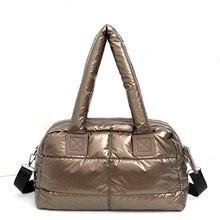 2019 New Winter Space Cotton Handbag  Large Capacity Down Package casual Ladies Bag Totes Bolsas sac a main canta
