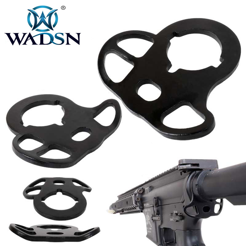 Image 2 - Wadsn Tactical Airsoft M4 Rear Sling Mount  Swivel AEG Military Army Accessories WOT0901-in Hunting Gun Accessories from Sports & Entertainment